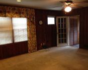 Family Room- BEFORE