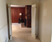Entry Foyer- BEFORE