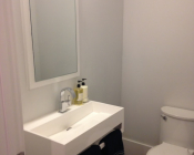 New Powder Room- AFTER