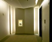 Residential Elevator Lobby- BEFORE