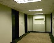 Garage Elevator Lobby- BEFORE