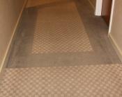 Detail of Residential Corridor Carpet- BEFORE
